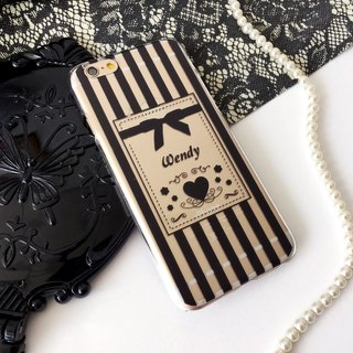 Customer Order Black Stripe Bow 06 Print Soft / Hard Case for iPhone X,  iPhone 8,  iPhone 8 Plus, iPhone 7 case, iPhone 7 Plus case, iPhone 6/6S, iPhone 6/6S Plus, Samsung Galaxy Note 7 case, Note 5 case, S7 Edge case, S7 case