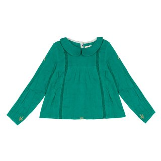 Chini Girl' Pine Green Shirt