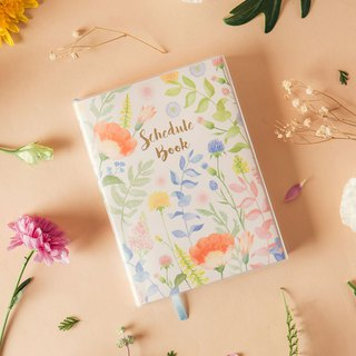 Pre-order / self-filling monthly calendar calendar - flower language soft