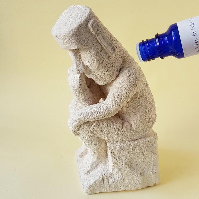 摩艾 沉思者 創意雕塑 居家擺飾 擴香雕像 居家香氛