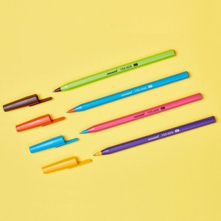 Monami-Macarons Hexagonal Color Ball Pen 4, MNM15307B