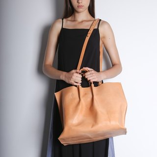 TWO-WAY TOTE - Natural