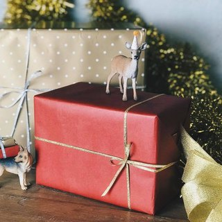 Plus purchase of goods - gift wrap