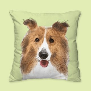 [I will love you forever] Classic joy pillow pillow dog animal pillow / pillow / cushion