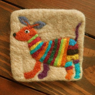 Cup coasters, Felt coasters Animal_Deer