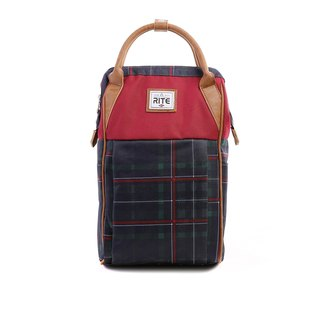 RITE- Urban║ roaming package (M) straight section - Bordeaux / Green Grid