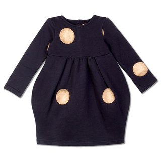 Nonna Girl' Navy Blue Dress