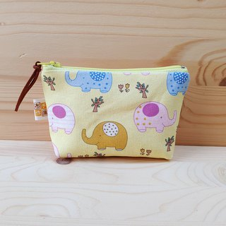 Cute baby elephant small storage bag
