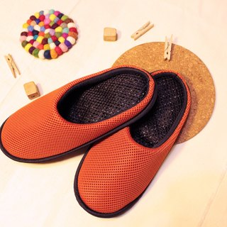 AC RABBIT function indoor air cushion slippers - all-inclusive - orange comfortable decompression original / sp-1208T-Mog