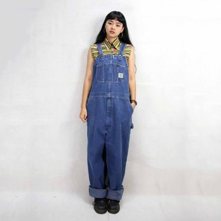 Tsubasa.Y Antique House Carhartt Brand Denim Suspenders 004, Denim Suspenders