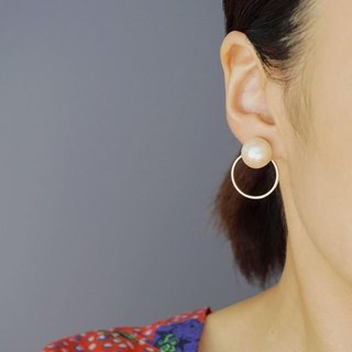 2 WAY ring earrings
