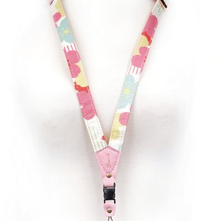 Phone strap neck hanging type - Flower pot