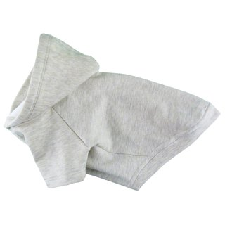 Super Soft~~ Classic Simple Ivory Fleece Hooded Sweatshirt, Dog Apparel
