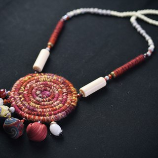 Elegant handmade neckless, unique beaded necklaces design collection #6