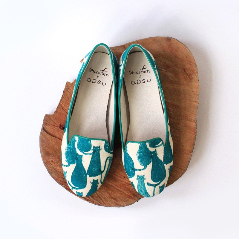 Shoes Trio Miss? Where are you going? Increased Obera / Handmade / Japanese Fabric / M2-17005F