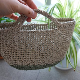 Summer bag,mini,interior,washi yarn