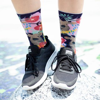 【宝岛咖印- Taiwan Sambar】Environmental coffee sand/sports socks