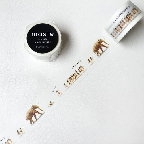 Maste and paper tape Multi Amazing Life [Original (MST-MKT162-G)]