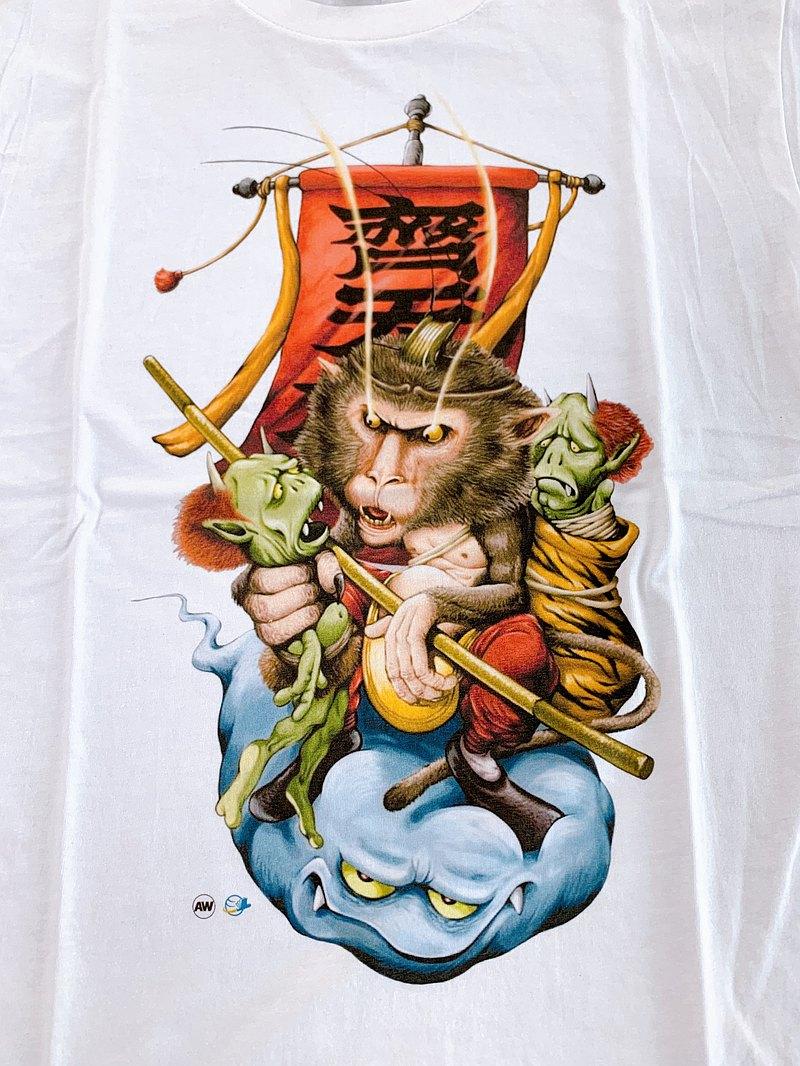 客製商品*【鬼島系列】柔棉短袖T恤