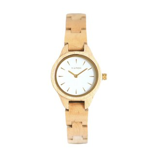 WILS FABRIK - Le Vegan - Maple Wood Watch