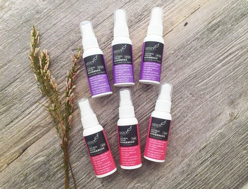 Free S/H for Singapore【EARTH FRIEND】- Natural Herbaceous Baby Insect Repellent / Classic fragrance 40ml*3 + Lavender 40ml*3