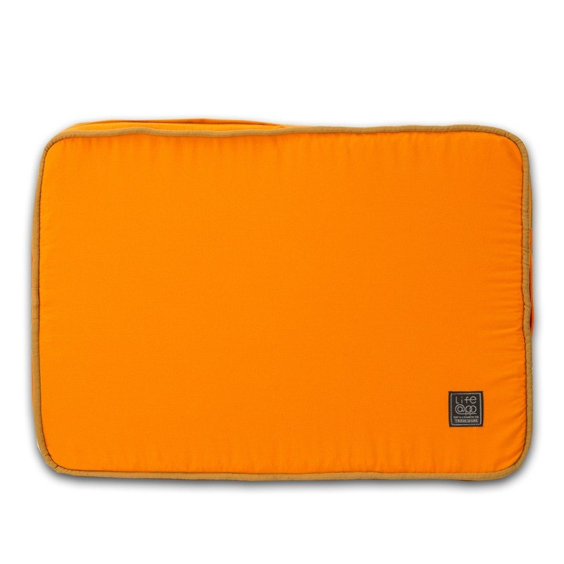 Lifeapp Sleeping Mat Replacement Cover S_W65xD45xH5cm (Orange Blue) Without Sleeping Mat