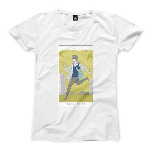 VII | The Chariot - White - Women's T-Shirt