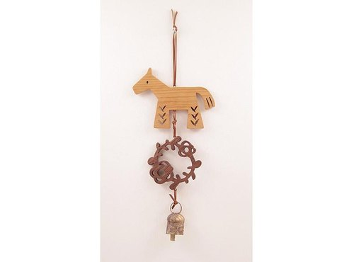 Doorbell Horse (Brown)