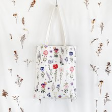 Favorite Flowers Totebag III  (free card for only Valentine)