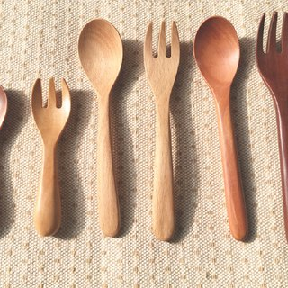 Log Wood Fork Group - 50 Group Purchase Discount Rate (Mixable)