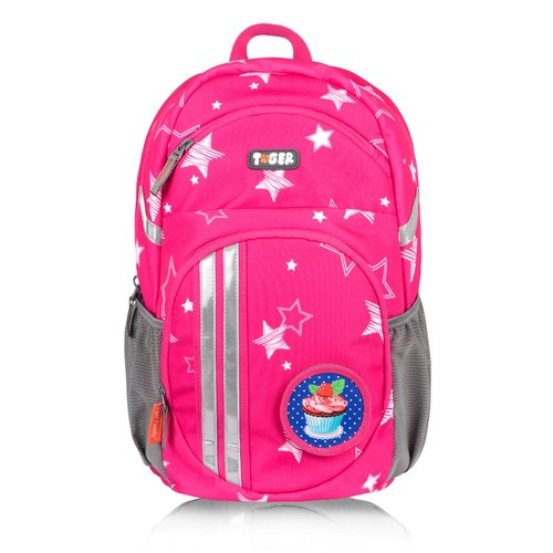 TigerFamily jumping spine leisure bag - pink stars