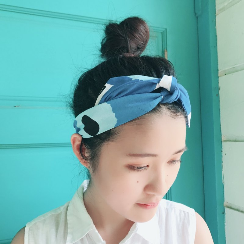 Shirakawa strap elastic tight version / handmade hair band