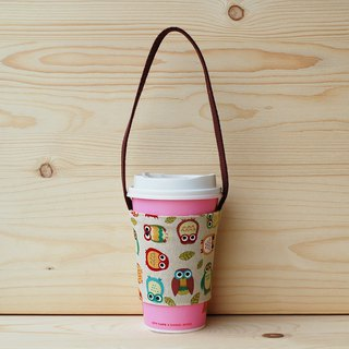 Penguin Owl Drink Bag/Cup Set