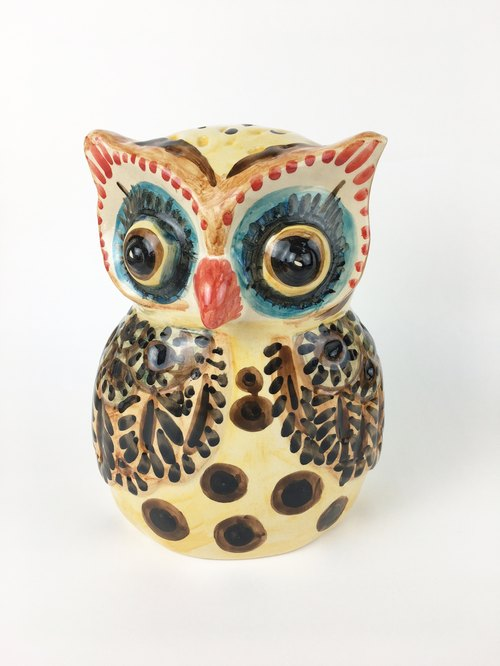 Nice Little Clay _ large decorations manually perspective Owl 3