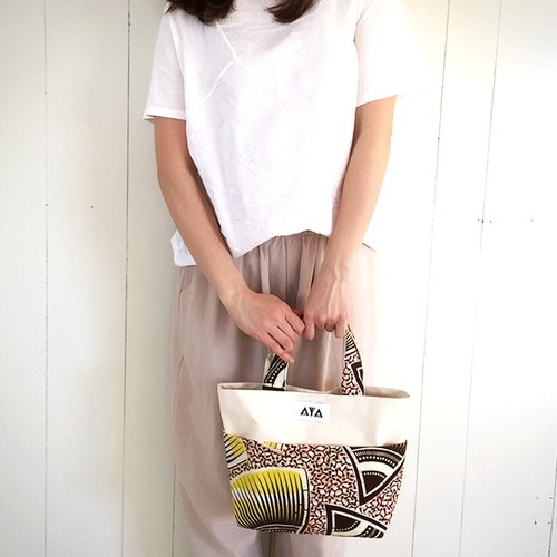 TOTE (S): Yellow-Pink