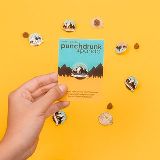 Say Yes to Adventure Enamel Pin