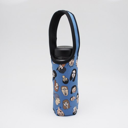 BLR Water Bottle Tote Ning [ Big Head ] TC45