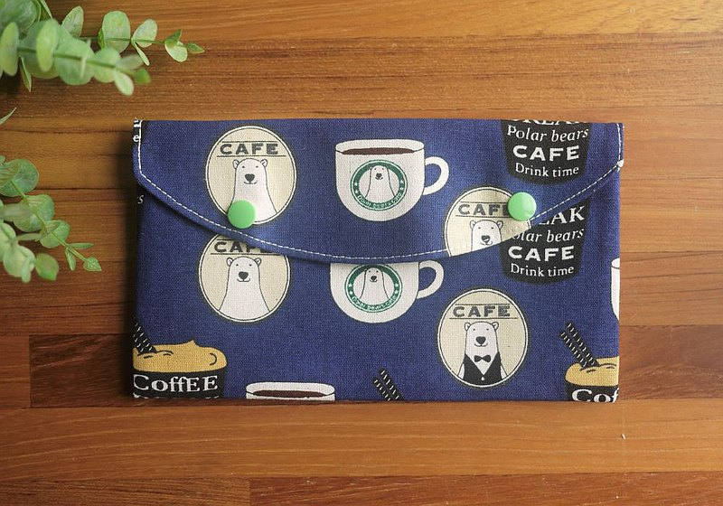 Storage bag/mask storage bag/small object bag/cotton cotton bag = storage of small objects, hygiene products, masks = welcome to Polar Bear Cafe
