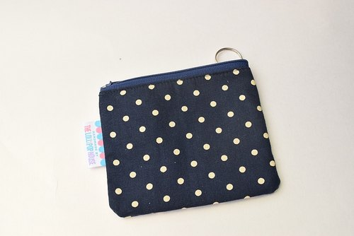 Key Bag - Purse - Dark Blue