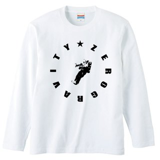 [Long sleeve T-shirt] Zero Gravity