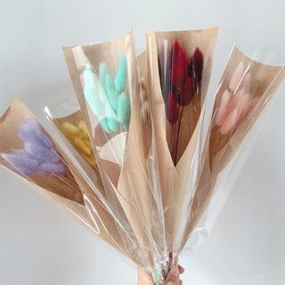 [good flower] single bouquet bouquet of rabbittail flowers Valentine's Day / one (six colors)