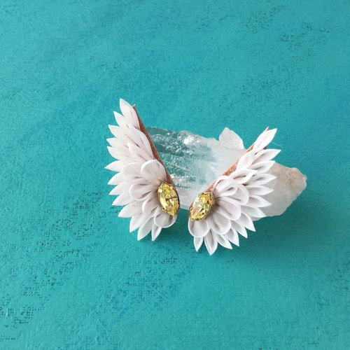 Little Wing Stud Earring with Swarovski
