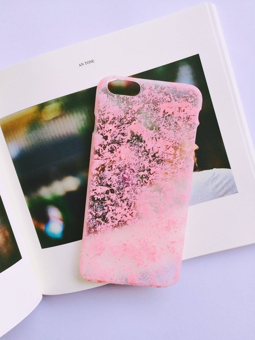 Fun variegated pink series iphone6P / 6sP Phone Case