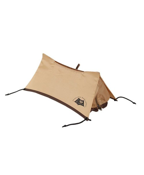 SUSS-Japan Magnets super cute outdoor tent modeling surface paper box cover (khaki)