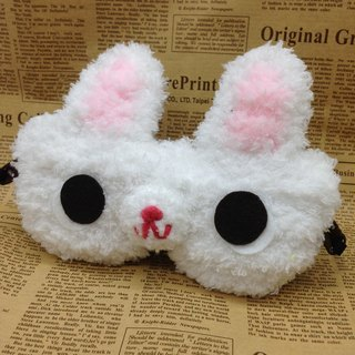 Marshmallow Animal Goggles - White Rabbit