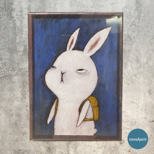 EmmaAparty Illustrator Puzzle: Rabbits Who Do Not Want to Go to Work (520 Tablets)