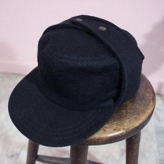 [Vintage Hats] {Made in Italy} GIPO Navy 100% Made in Italy (Christmas Gift Exchange Gift)