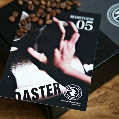 [ROASTGEM.HK x Return Coffee Roastery] fight with espresso coffee beans roasted specialty coffee 250g -CTRL Hong Kong