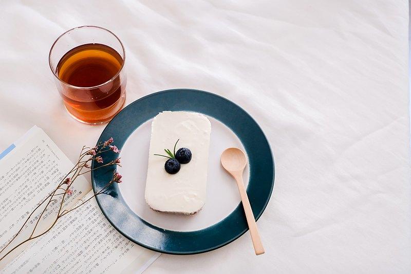迷你盒 - 三重藍莓檸檬芝士蛋糕(低糖)