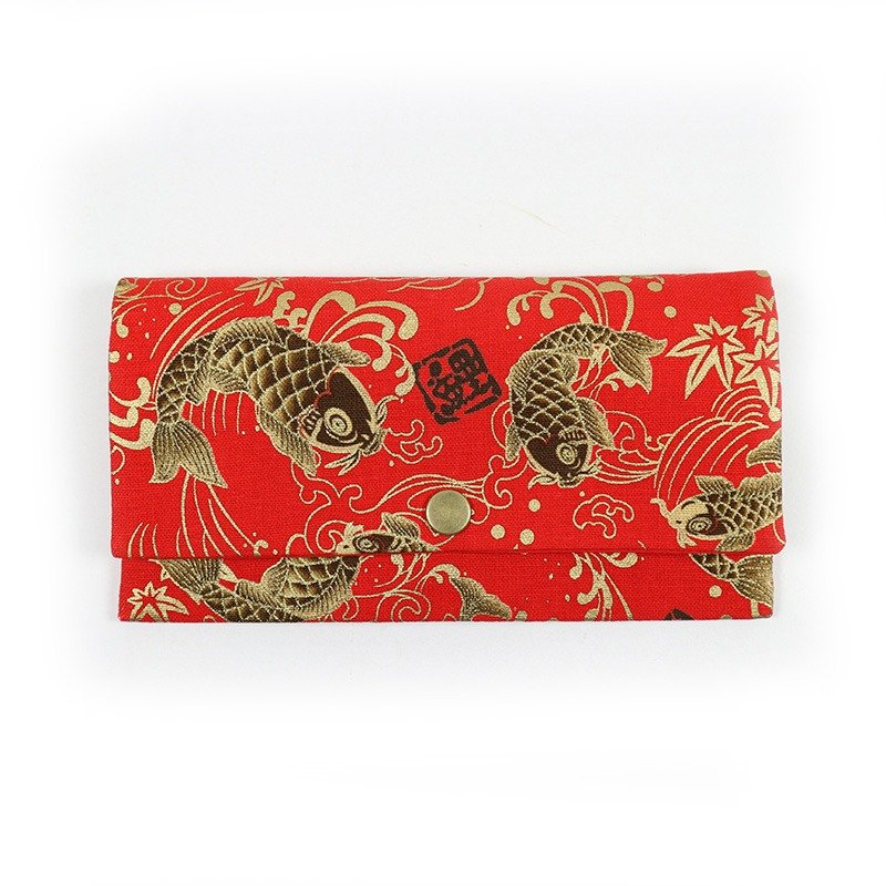 Passbook red envelopes of cash pouch - every year more than